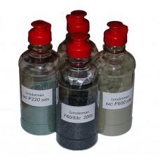 НШКК-4: набор шлифзерна карбида кремния (F60;F220; F400;F600) 4х200 грамм