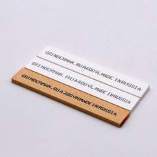 Набор из 3 (трёх) камней GRINDERMAN 25х6х152мм из оксида алюминия (F220, F400, F600)