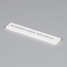 Точильный камень GRINDERMAN из оксида алюминия (25А) для заточных систем ширина 25мм толщина 6мм длина 147мм F1000 Российского производства
