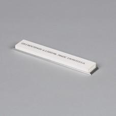 Точильный камень GRINDERMAN из оксида алюминия (25А) для заточных систем ширина 25мм толщина 6мм длина 147мм F1000 Российского производства на бланке