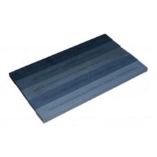 Точильный камень GRINDERMAN из карбида кремния (64С) для заточных систем ширина Профиль 25мм толщина 8мм длина 200мм (F120, F220, F400, F600, F1000)  Российского производства