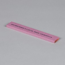Точильный камень GRINDERMAN из электрокорунда розового (25А) для заточных систем ширина 25мм толщина 6мм длина 152мм F120 Российского производства