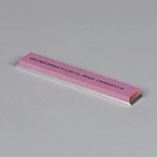 Точильный камень GRINDERMAN из электрокорунда розового, для заточных систем ширина 25мм толщина 6мм длина 152мм F120 Российского производства