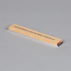 Точильный камень GRINDERMAN из оксида алюминия (25А) для заточных систем ширина 25мм толщина 6мм длина 152мм F220 Российского производства на бланке
