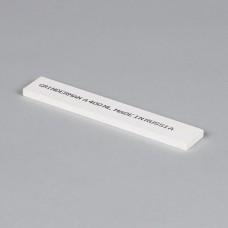 Точильный камень GRINDERMAN из оксида алюминия (25А) для заточных систем ширина 25мм толщина 6мм длина 150мм F400 Российского производства