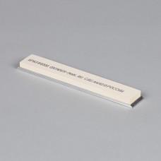 Точильный камень GRINDERMAN  для заточных систем ширина 25мм толщина 6мм длина 160мм #4000 Российского производства на бланке