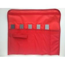 Набор 5 (пять) камней GRINDERMAN из карбида кремния для заточных систем 25х8х200мм (F120, F220, F400, F600, F1000) в сумке скрутке