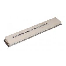 Точильный камень GRINDERMAN из оксида алюминия (25А) для заточных систем ширина 25мм толщина 6мм длина 152мм F320 Российского производства на бланке