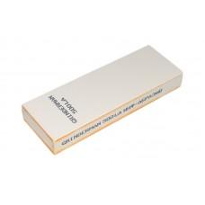 Брусок водный для ручной заточки GRINDERMAN из оксида алюминия ширина 50мм толщина 15мм длинна 150мм F600