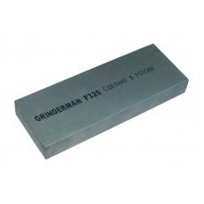Брусок водный для ручной заточки GRINDERMAN из карбида кремния ширина 75мм толщина 25мм длина 200мм F320